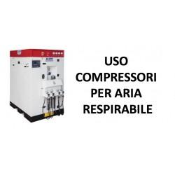 Addetto alla ricarica compressore alta pressione per aria respirabile