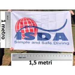 Bandiera ISDA grande 100 x 150