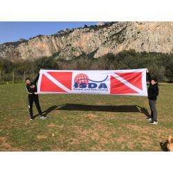 Banner orizzontale ISDA 1 metro x 4 metri